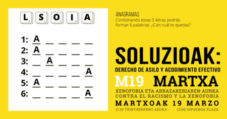 Soluzioak Facebook Post Anagrama