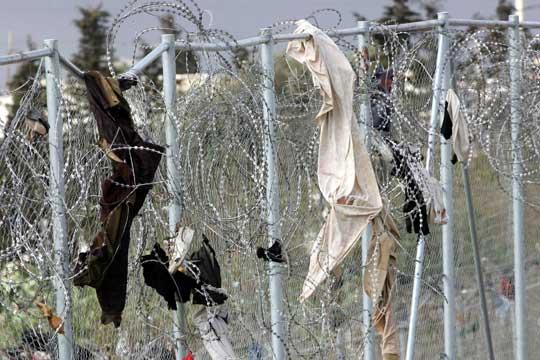 Inmigración en la valla de Melilla